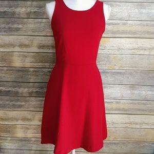 Pixley Dress Stitch Fix Red Sz M